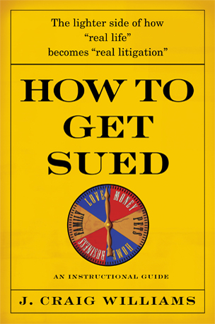 How To Get Sued Book